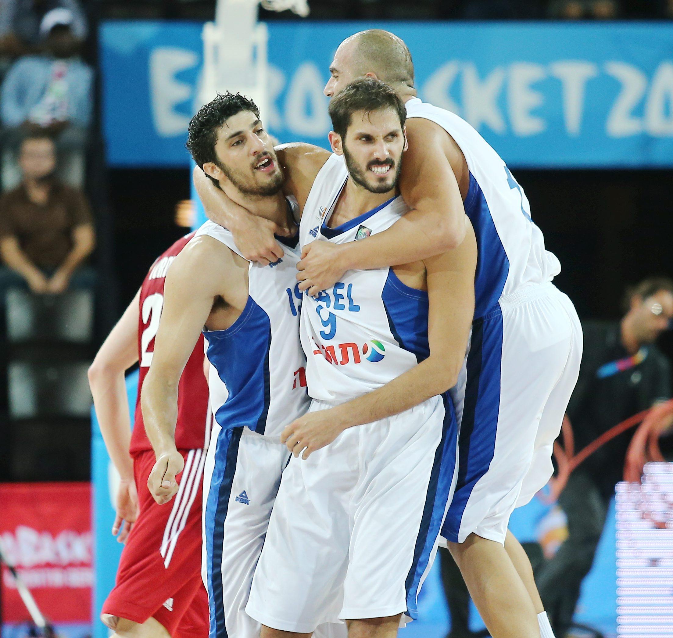 נבחרת ישראל במקום העשירי באליפות אירופה