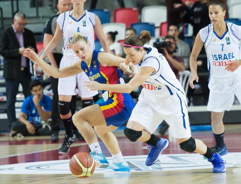 הפסד אכזרי לנבחרת הנשים של ישראל: 78-77 מול רומניה