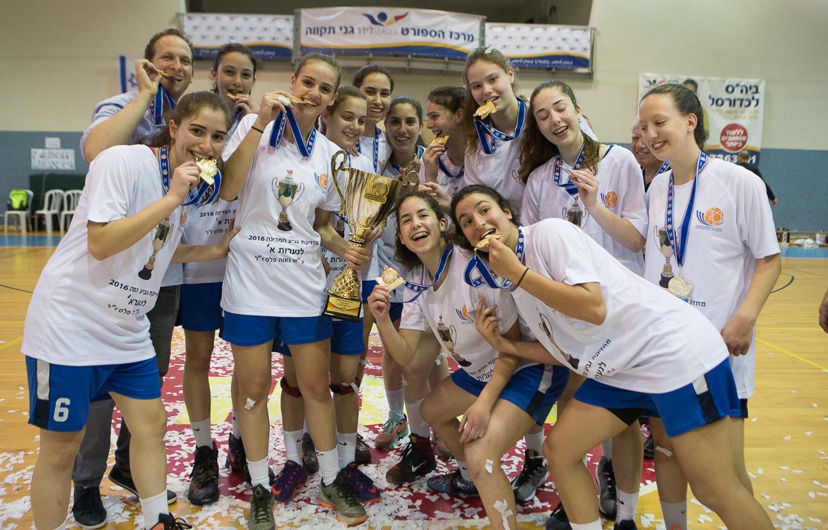 מחזיקת גביע המדינה לנערות: מכבי רעננה