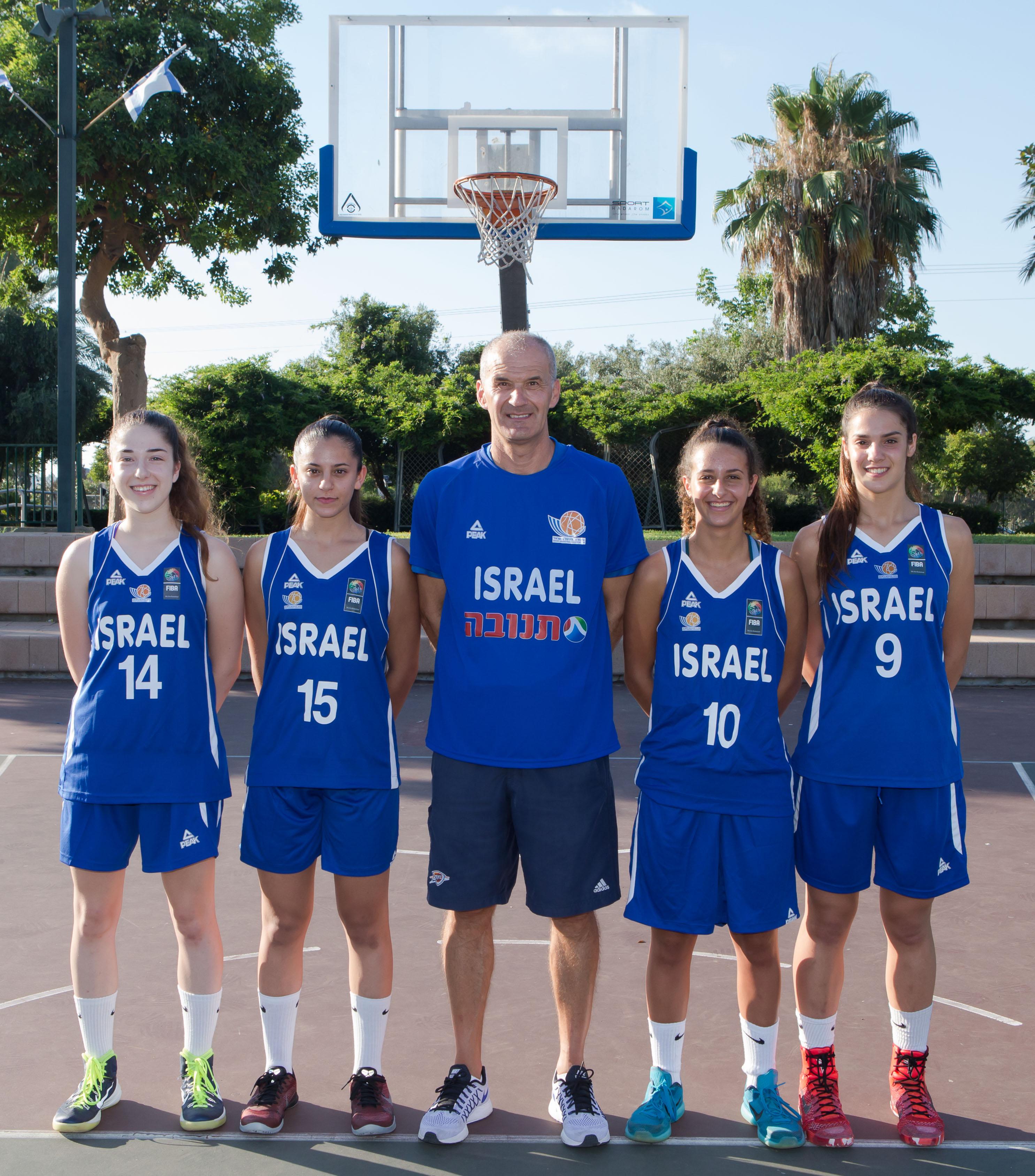 3X3: הנערות עלו לרבע גמר מוקדמות אליפות אירופה. הבנים הודחו