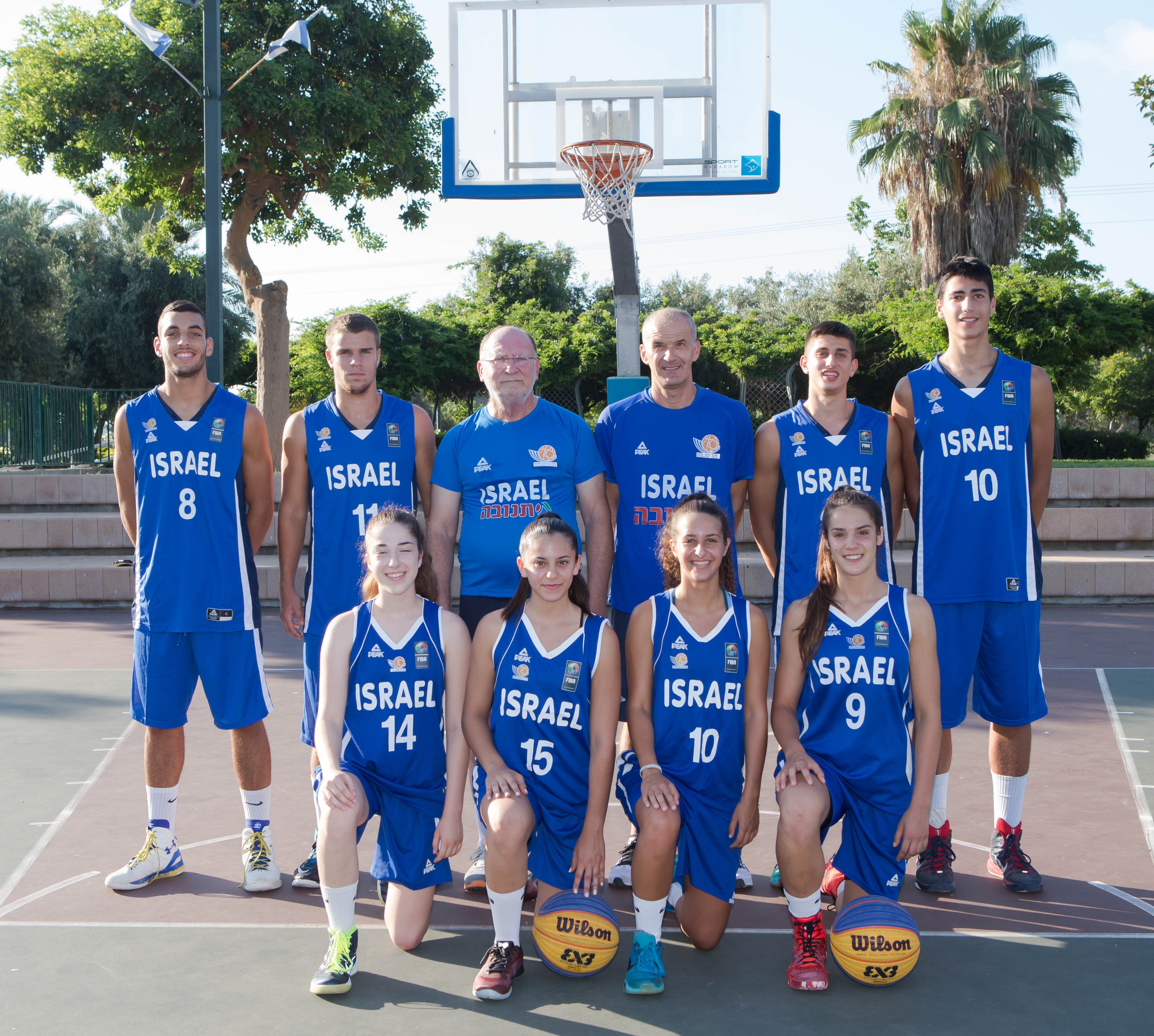 נבחרות הנערות והנערים 3X3 יצאו למוקדמות אליפות אירופה