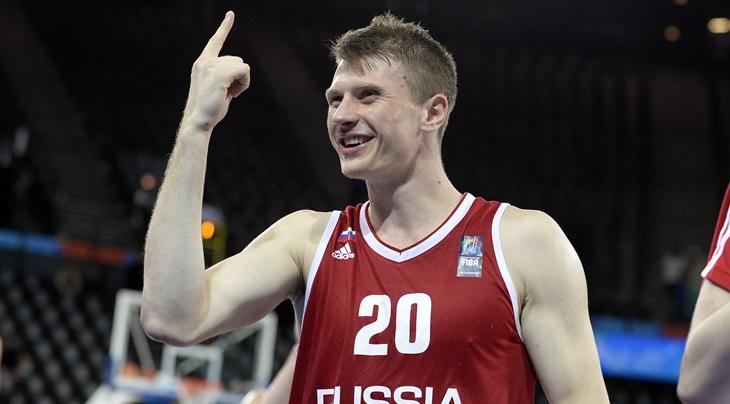רוסיה הראשונה להבטיח את עלייתה ליורובאסקט 2017 מטורניר המוקדמות