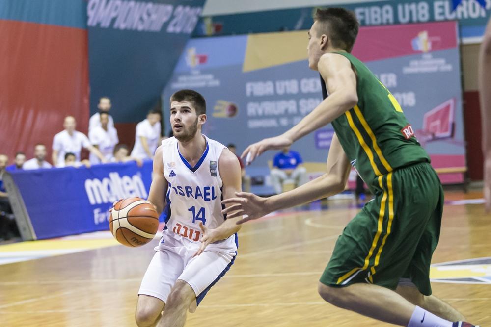 נבחרת הנוער הפסידה לליטא 94-88 אחרי הארכה וירדה למשחקי ההישרדות בדרג א'