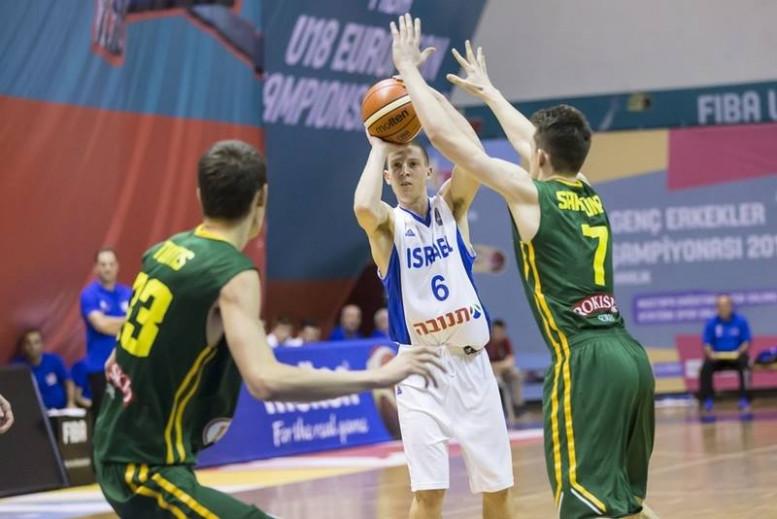 אליפות אירופה לנוער: הפסד לישראל מול סרביה