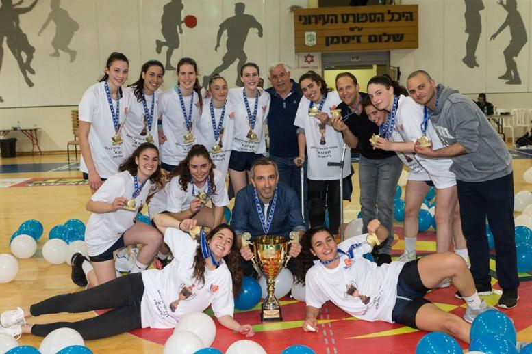 מכבי רעננה היא מחזיקת גביע המדינה לנערות