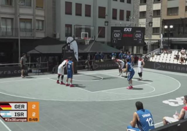 נבחרות ישראל 3 על 3 במוקדמות אליפות אירופה: ארבעה הפסדים לשתי הנבחרות