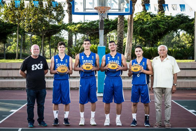 נבחרת הנוער של ישראל 3 על 3 סיימה במקום ה-10 במשחקי אליפות העולם