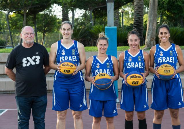 נבחרת ישראל 3X3 יוצאות למוקדמות אליפות אירופה