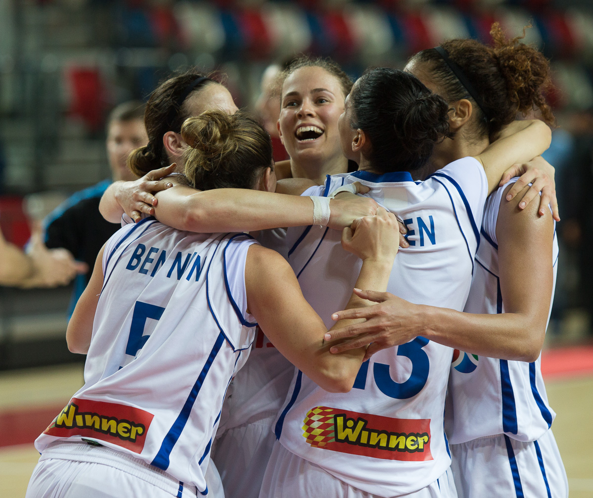 נבחרת הנשים בקבוצת האיכות השנייה לקראת הגרלת מוקדמות אליפות אירופה