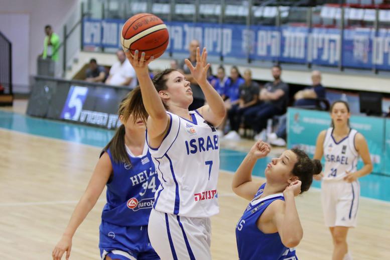 עתודה נשים: הפסד מול יוון, הנבחרת תתמודד על המקום השביעי