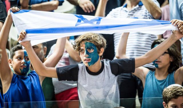 גלריית תמונות ממשחק ההכנה של נבחרת ישראל מול בריטניה