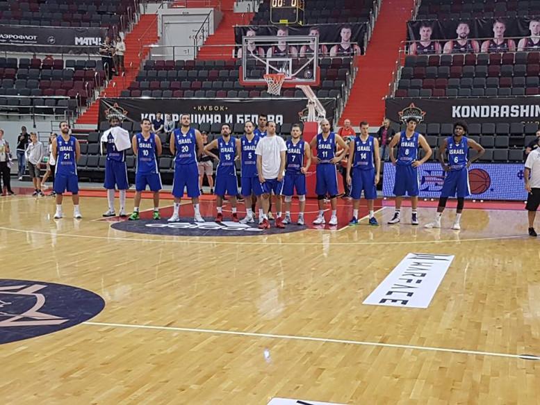 ניצחון לישראל במשחק ההכנה השלישי ליורובאסקט: גברה על פינלנד 92-97