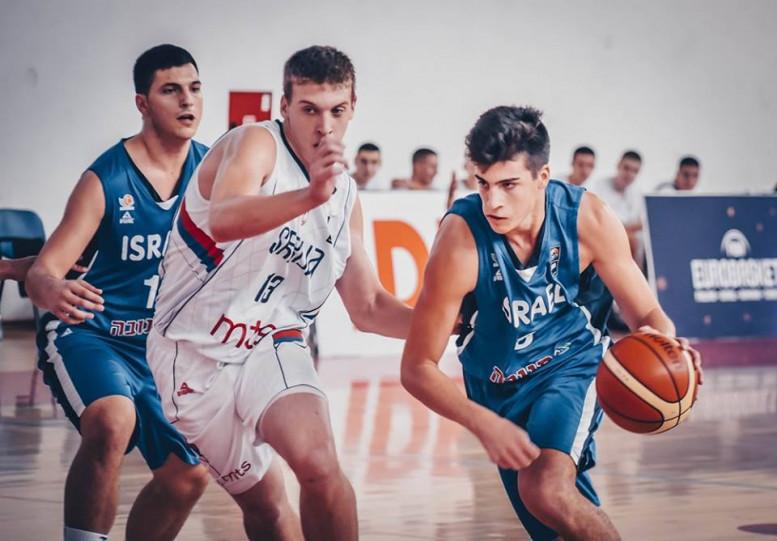 נבחרת הקדטים: ניצחון שני באליפות אירופה; גברה על סרביה 71-79