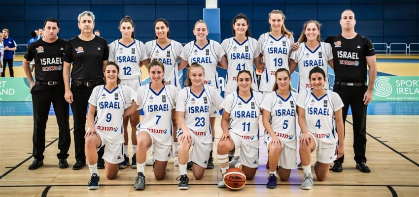 נבחרת הנערות: ניצחון שלישי באליפות אירופה; הביסה את גאורגיה 43-77