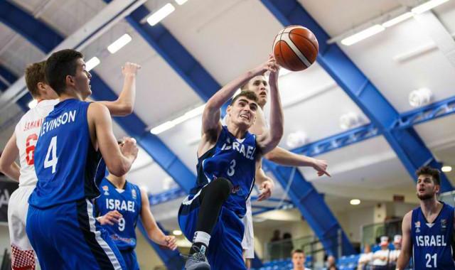 גלריית תמונות ממשחק חצי גמר אליפות אירופה של נבחרת הנוער מול קרואטיה