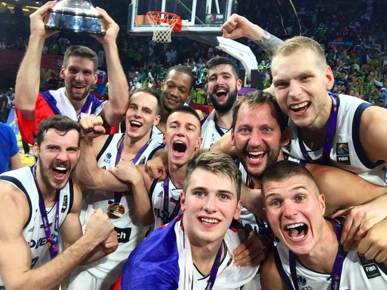 נבחרת סלובניה היא אלופת אירופה; ניצחה בגמר את סרביה