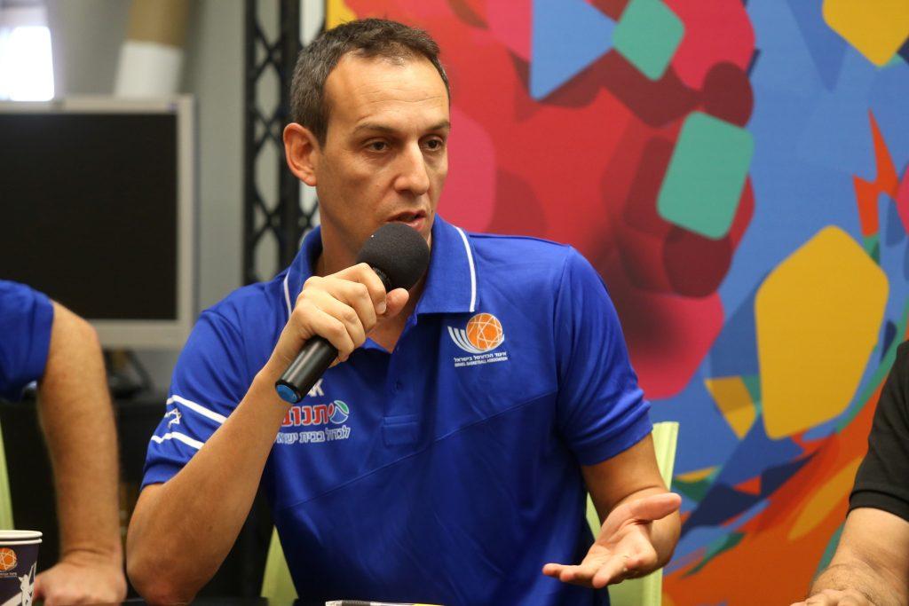 """הוצג עודד קטש, מאמנה החדש של נבחרת ישראל; קטש: """"אני שמח להיות שותף לחזון ולבנייה של הדור הצעיר"""""""