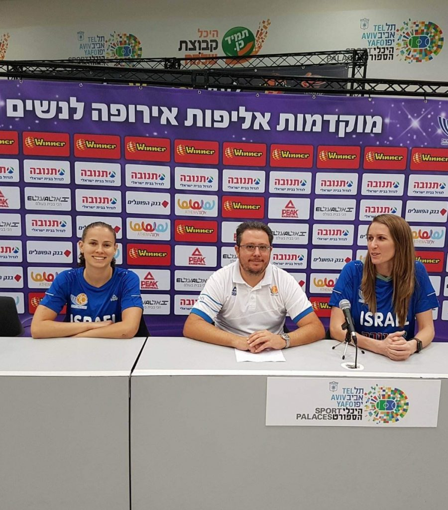 """מוקדמות אליפות אירופה לנשים; ענבר: """"רוצים ואפשר לעלות, המסע מתחיל מחר"""""""
