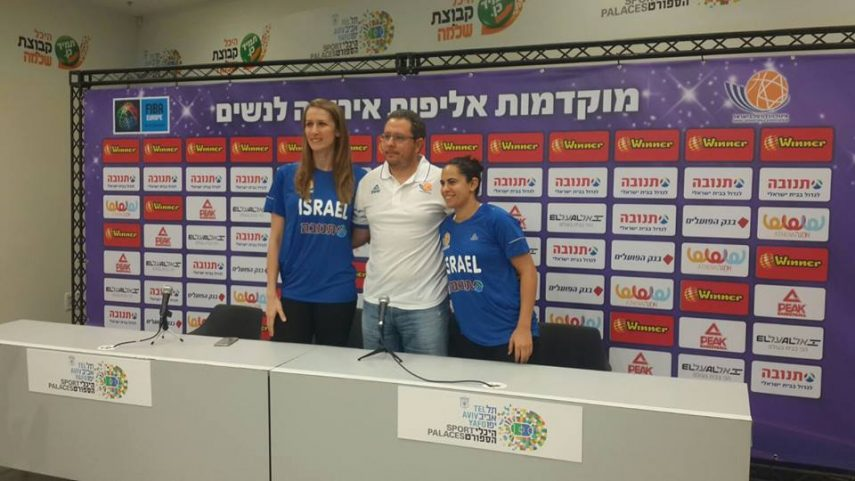 """מסע""""ת פתיחת קמפיין מוקדמות אליפות אירופה לנשים 2019; עדן ענבר: """"הנבחרת עוברת תהליך מבורך לטווח ארוך"""""""