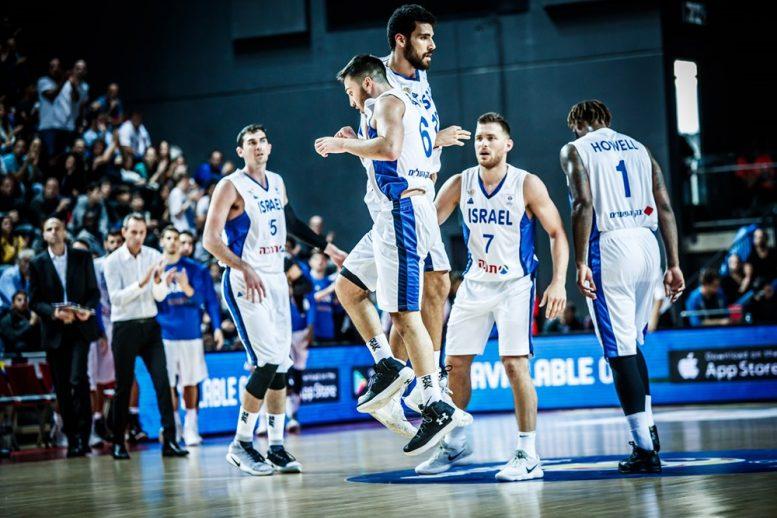 מוקדמות גביע העולם 2019: ניצחון לישראל על אסטוניה 68-88 במשחק הפתיחה