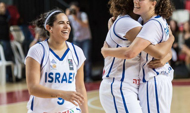 גלריה מהניצחון של נבחרת הנשים על פורטוגל במוקדמות אליפות אירופה