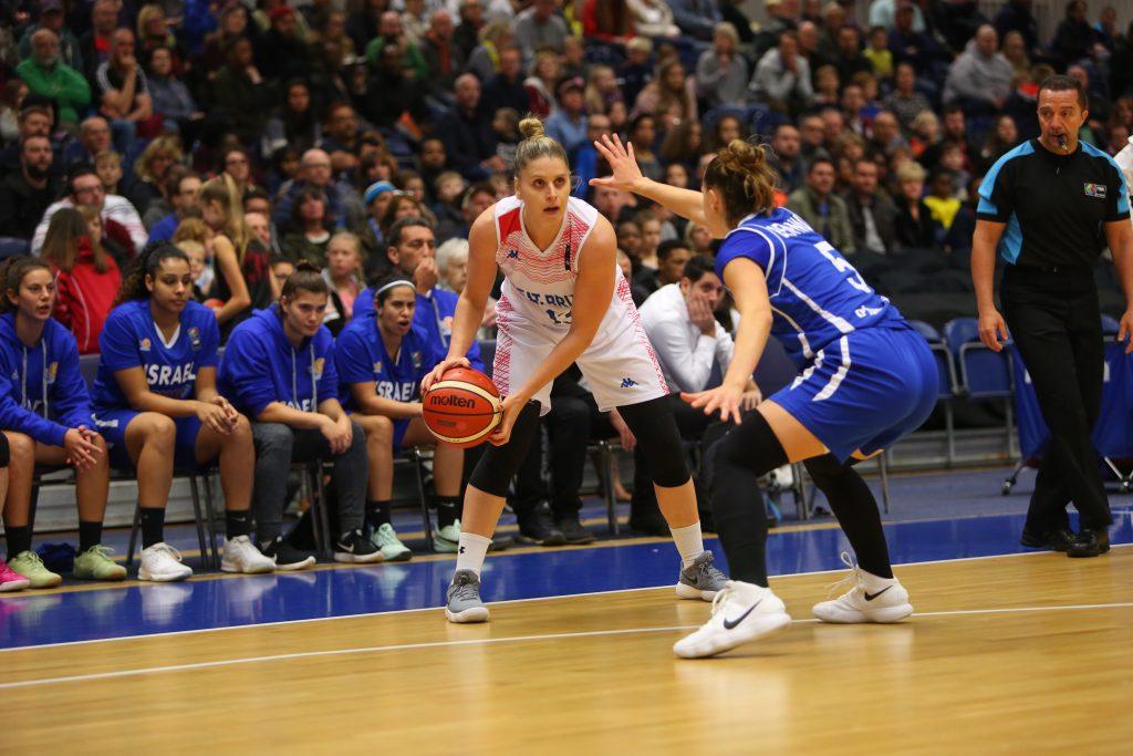 מוקדמות אליפות אירופה לנשים: הפסד אכזרי לאחר הארכה לנבחרת ישראל במשחק הפתיחה מול בריטניה
