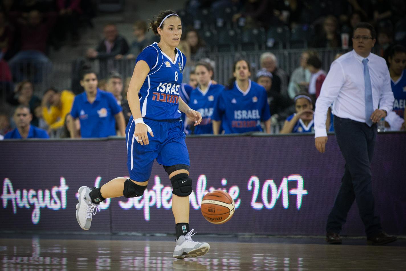 שי דורון חוזרת לנבחרת ישראל לקראת המשחקים נגד יוון ובריטניה