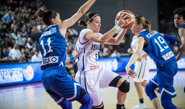 גלריה ממשחק נבחרת הנשים מול יוון