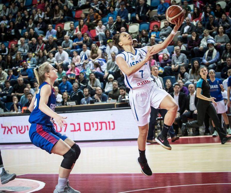 מוקדמות אליפות אירופה לנשים: הפסד ביתי לנבחרת ישראל מול בריטניה 76-74