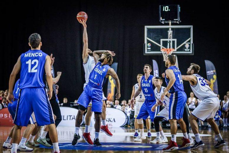 מוקדמות הגביע העולמי 2019: הפסד לנבחרת ישראל מול אסטוניה 78-62