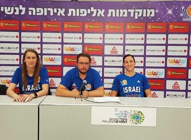 """ענבר: """"אנחנו רוצים לסיים במקום הראשון, וזה עובר דרך ניצחון על יוון"""""""