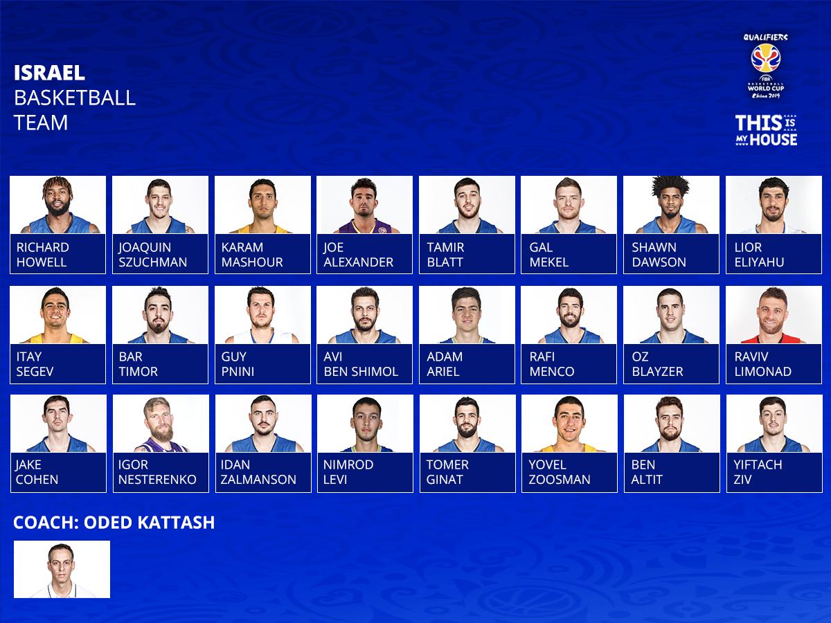 נקבעה רשימת 24 השחקנים לצמד המשחקים נגד בריטניה ואסטוניה במסגרת מוקדמות גביע העולם