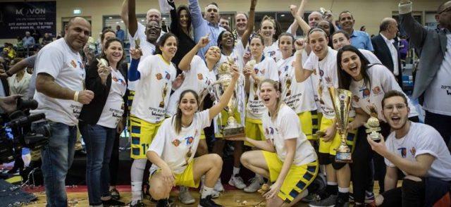 גמר גביע המדינה ווינר סל לנשים: מכבי אשדוד ניצחה את אליצור חולון 57-78 וזכתה בגביע רביעי בתולדותיה