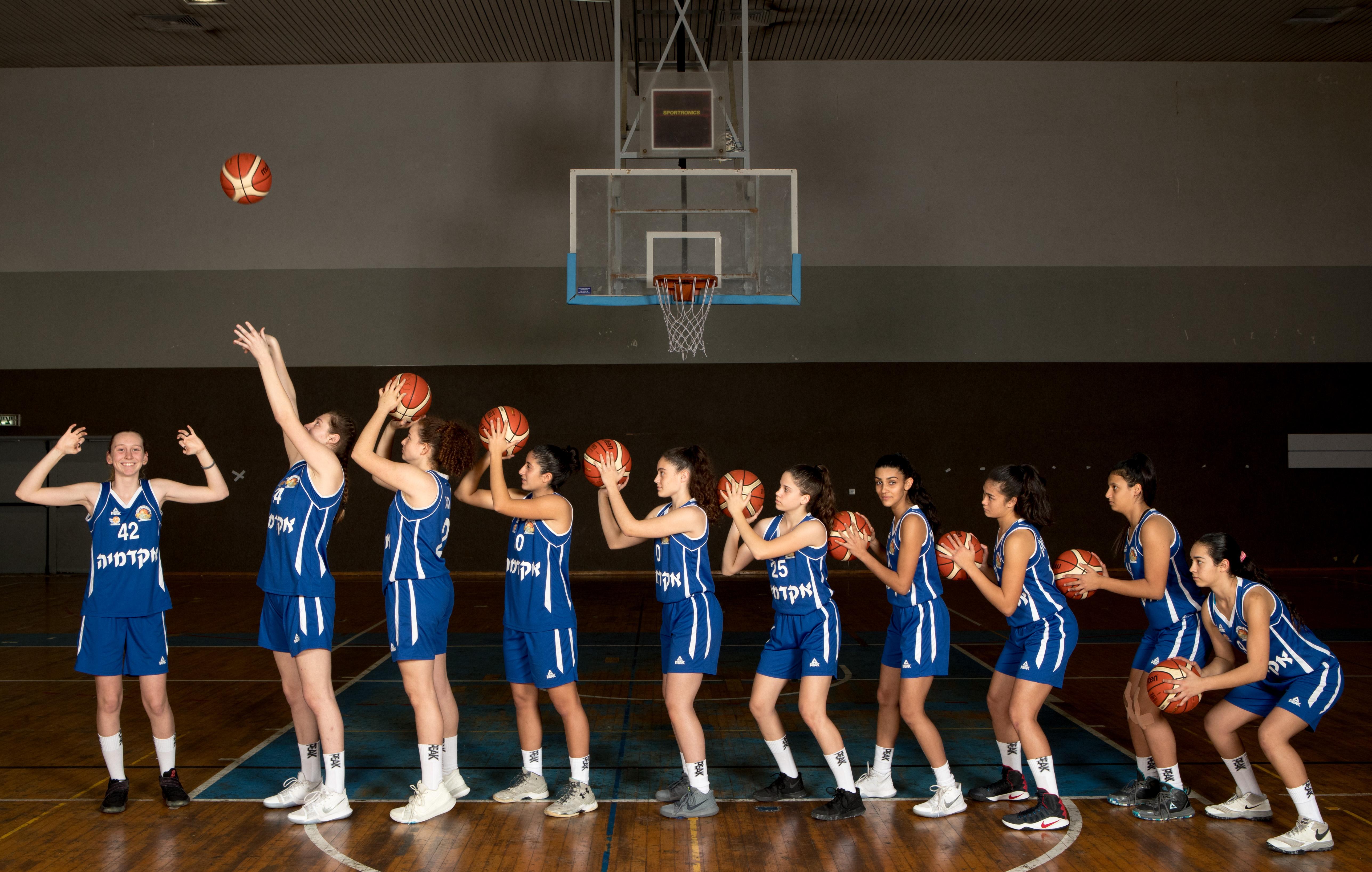 פרויקט איתור שחקניות כדורסל באיגוד הכדורסל