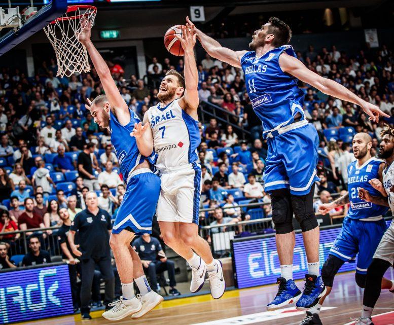 הפסד ביתי לנבחרת ישראל מול יוון 96-78 במוקדמות הגביע העולמי 2019