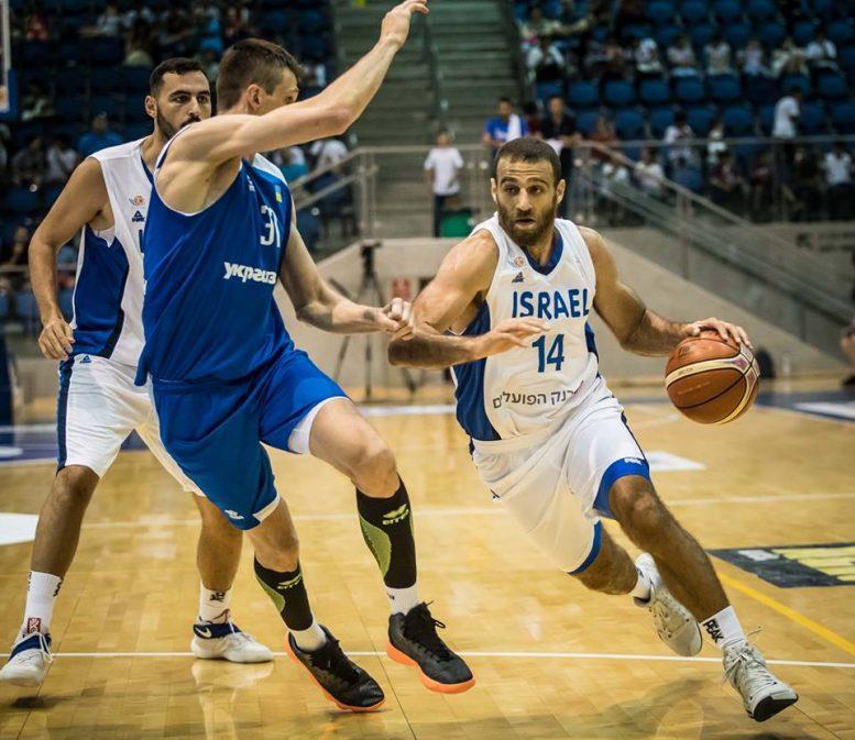 הפסד לנבחרת ישראל 85-83 במשחק האימון מול אוקראינה