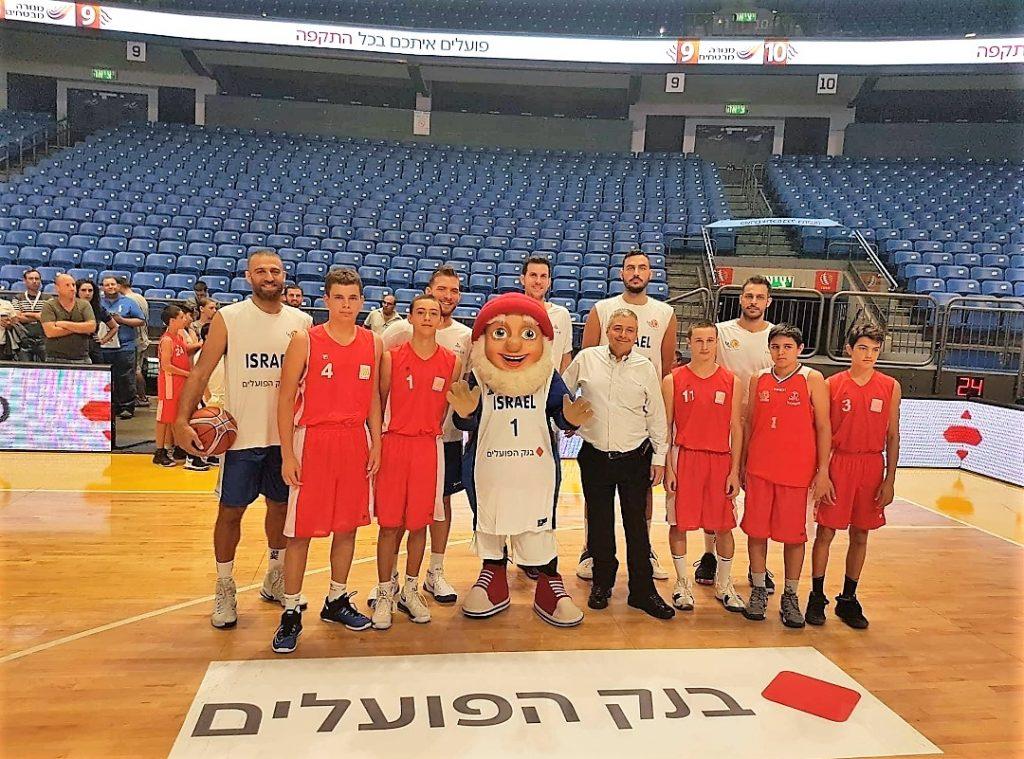 """יו""""ר איגוד הכדורסל, עמירם הלוי: """"אני גאה ושמח על השותפות האמיתית שהצלחנו ליצור עם בנק הפועלים"""""""