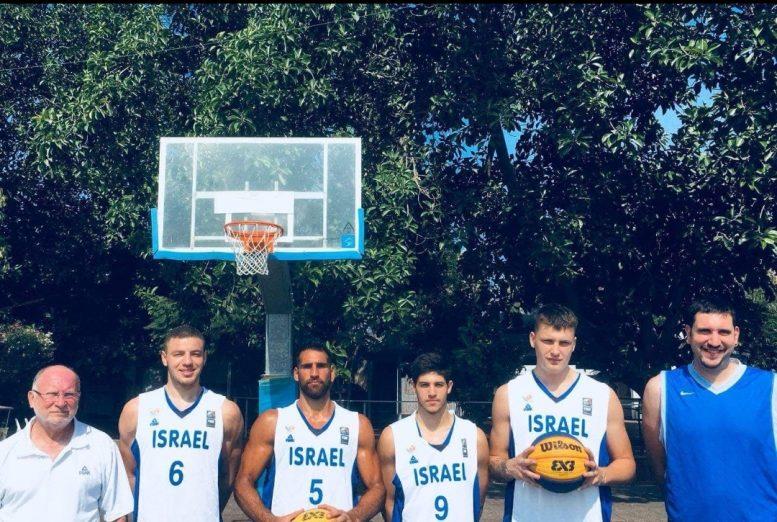 ניצחון והפסד לנבחרת הגברים בכדורסל 3 על 3 במוקדמות אליפות אירופה