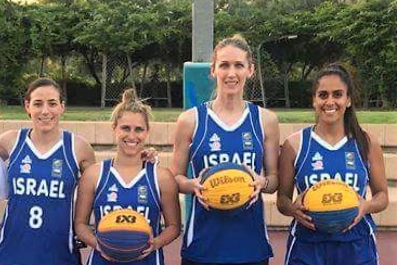 שני נצחונות לנבחרת הנשים בכדורסל 3 על 3 במוקדמות אליפות אירופה
