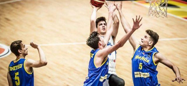 עתודה גברים: ניצחון ראשון לנבחרת באליפות אירופה, 48-95 על רומניה