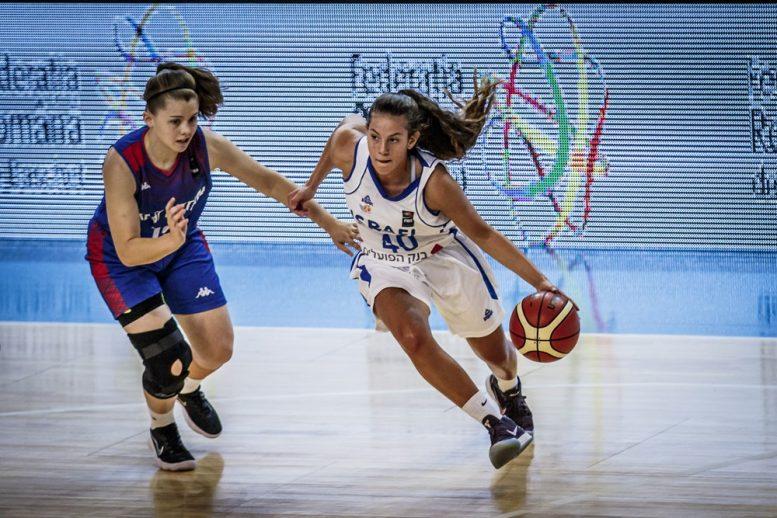 עתודה נשים: ניצחון לנבחרת ישראל במשחק הפתיחה 55-72 על בריטניה