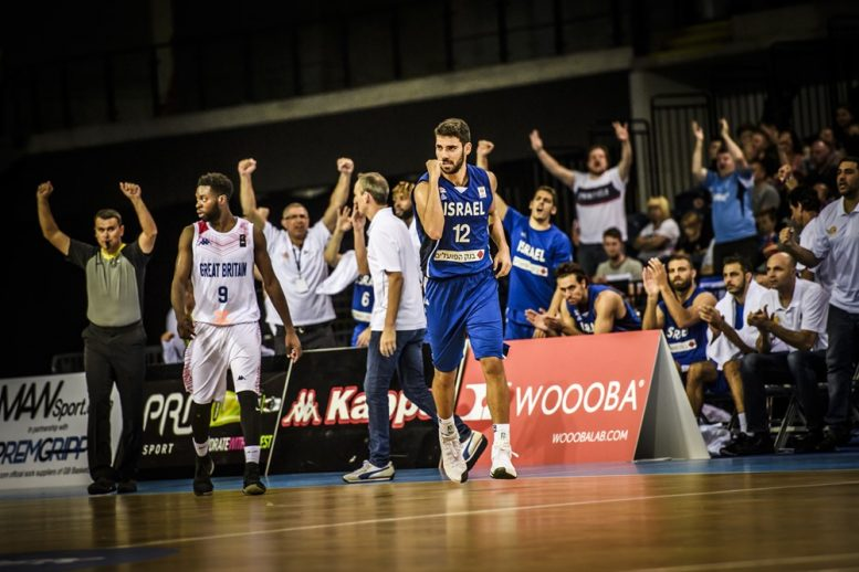 ניצחון לנבחרת ישראל 59-67 על בריטניה; הנבחרת העפילה לשלב השני במוקדמות הגביע העולמי 2019