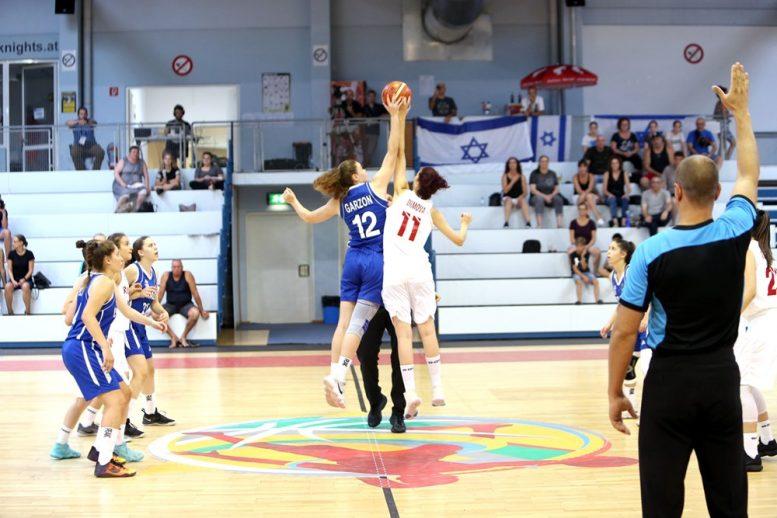 הפסד ראשון לנבחרת הנערות באליפות אירופה; נוצחה על ידי יוון 38-29
