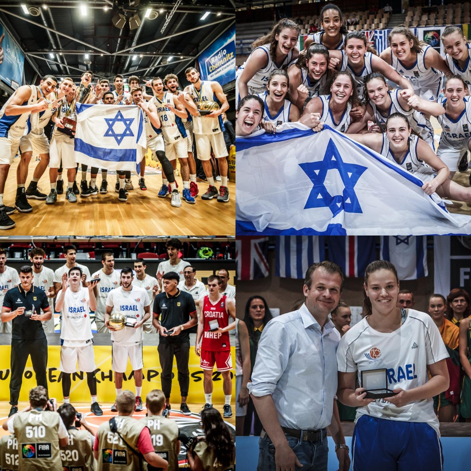 הנבחרות הצעירות של ישראל סיימו את הקיץ במאזן של 32 ניצחונות לעומת 13 הפסדים