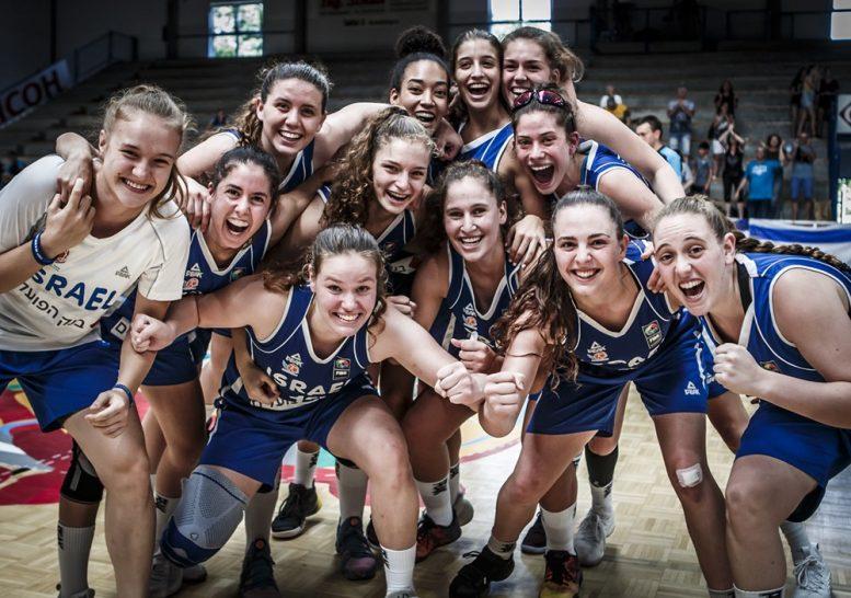 נבחרת הנערות העפילה לרבע גמר אליפות אירופה דרג ב'; ניצחה את ליטא 66-76