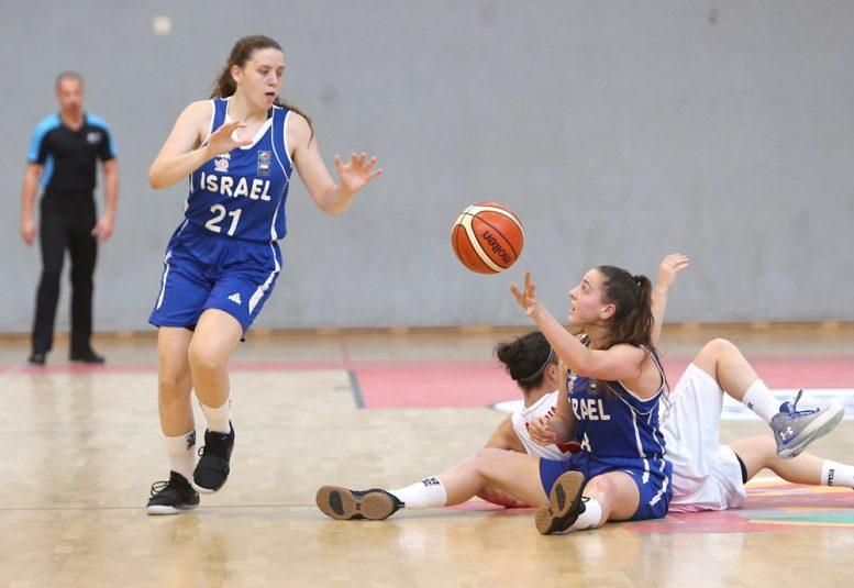ניצחון שלישי לנבחרת הנערות של ישראל באליפות אירופה; הביסה את נבחרת בולגריה 48-76