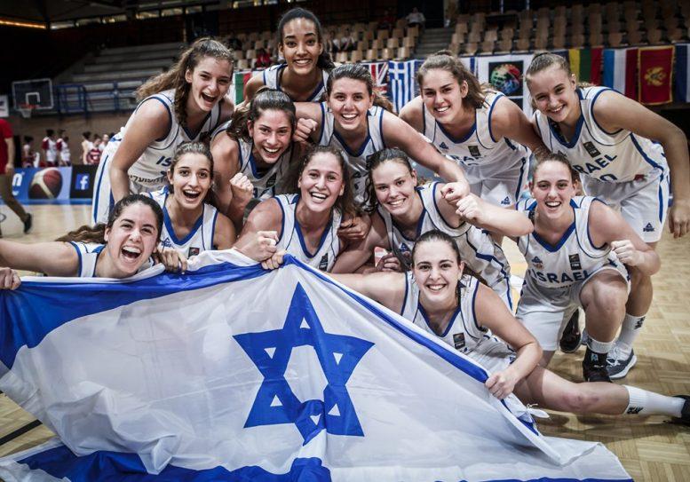 נבחרת הנערות ניצחה את טורקיה 51-63 ועלתה לדרג א'