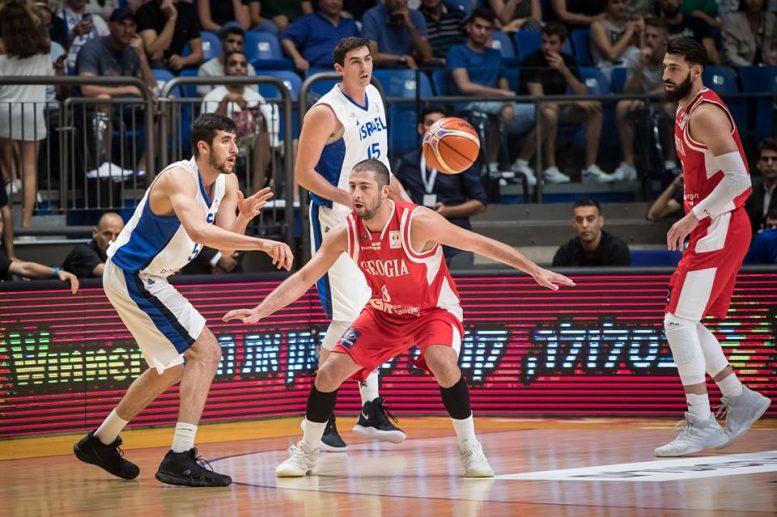 הפסד ביתי לנבחרת ישראל מול גאורגיה 85-80 במשחק שפתח את השלב השני במוקדמות גביע העולם