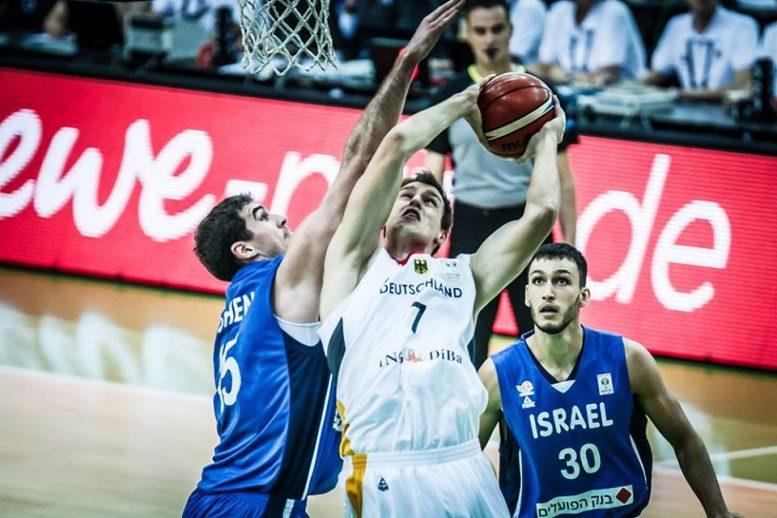 הפסד אכזרי לנבחרת ישראל מול נבחרת גרמניה 112-98 לאחר הארכה