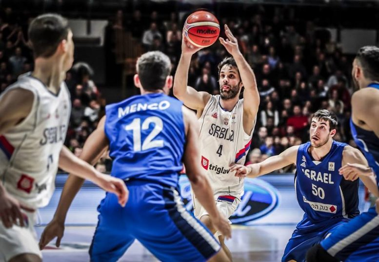 הפסד לישראל בסרביה 97-76; לא תשתתף במשחקי הגביע העולמי 2019